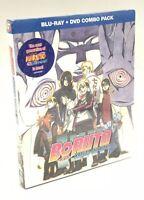 Boruto: Naruto The Movie (Blu-ray/DVD, 2017, 2-Disc Set) NEW w/ Slipcover