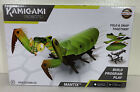 NEW Kamigami Mantix Praying Mantis Robot Kids Toys Games Green STEM Activity