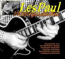 Gitarre CD Les Paul 20 Unforgettable Hits