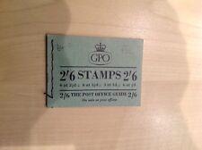 G-B Stamp Booklet SG F32. 2/6. July 1955