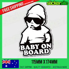 COOL BABY ON BOARD Sticker - HANGOVER Baby on Board - Car Window Sticker Decal