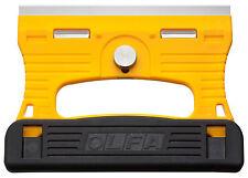 OLFA GSR-1/3B - Rascador de vidrio cuchilla inoxidable con 3 cuchillas extra