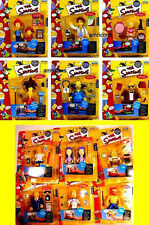 Simpsons Series 8 + Series 9 Sets 12 Action Figures New Playmates Toys 2002