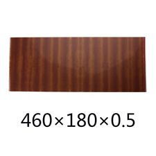 Acoustic Guitar Pickguard Scratch Plate Soft Sheets sapele wood Grain PVC