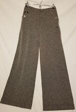 Abercrombie & Fitch Herringbone Pants B&W Sz Sm Womens