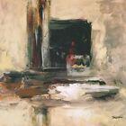 """35W""""x35H"""" GATEWAY by CHRIS SCOTT - SPLASH SPATULA THICK PAINT BUILDUP CANVAS"""