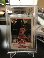 1990-91 Fleer #26 Michael Jordan BGS 8.5 NM-MT+ HOF Rare Authentic
