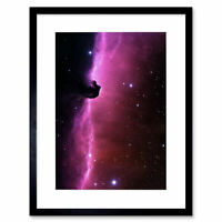 Space Cosmic Landscape Horsehead Nebula Orion Framed Wall Art Print