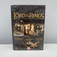 The Lord Of The Rings Trilogy (DVD, 2005, 6-Disc Set, Box Set) NEW & SEALED