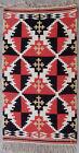 Kilim rug carpet antique European Europe Scandinavian Finnish 1950