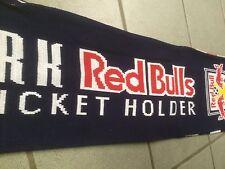 New York Red Bulls 2013 scarf NEW Season Ticket Holders UNOPENED BEAUTIFUL