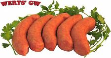10 lb. Smoked Polish Sausage-Fully Cooked Pork Sausage/Sausages-Made in Nebraska