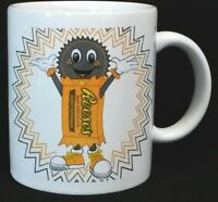 Reeses Peanut Butter Cups Candy Mascot Coffee Mug 1999 Hershey Reese's Collector