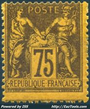 FRANCE TYPE SAGE N° 99 NEUF * AVEC CHARNIERE COTE 375€