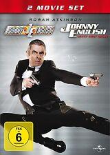 JOHNNY ENGLISH BOXSET (ROWAN ATKINSON, ROSAMUND PIKE,...)  2 DVD NEU