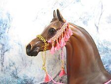 HW51 - LSQ Braided Arabian Halter for a Peter Stone, similar size Model Horses