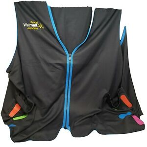 Walmart Associate / Employee Vest Size 3XL Multi-Color New Spark Design Great