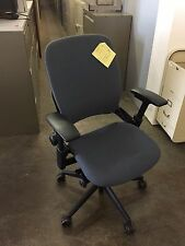 EXECUTIVE CHAIR by STEELCASE LEAP V2 MODEL in MED GRAY COLOR *FULLY LOADED*