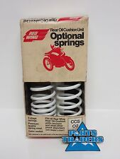 NOS Red Wing Rear Shock White Spring Set Of 2 330 320 310 Shocks