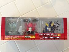 Transformers Autobot 3 Pack SDCC 2014 Exclusive The Loyal Subjects Signed Vinyl
