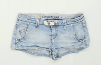 Womens Crafted Blue Denim Shorts Size 10/