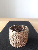 Philippe Audibert Paris brushed Gold Metal Bracelet