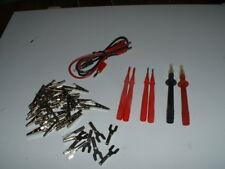 Fluke, Pomona Utility Test Lead Set.  Ham Radio, DMM, Multimeter, Electronics