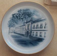Vintage Vista Alegre Portugal Ceramic Plate Box Cobalt Blue White 5.5 Exhibition