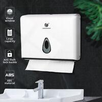 Wall Mounted Bathroom Paper Tissue Towel Dispenser Box Industrial Toilet Holder
