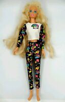 Barbie Sportiva Gambe pieghevoli Mattel Testa 1976 China Corpo 1993 Vintage