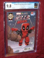 Deadpool Kills the Marvel Universe Again #1 CGC 9.8 Minimates variant