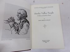 % Smoky Valley People HISTORY of LINDSBORG KANSAS 1953 Lindquist FIRST Rare