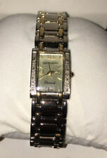 PIERRE CARDIN LADIES DIAMOND COLLECTION TWO TONE WATCH NEW PCD4000TS