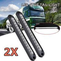 2X LED TRAILER LIGHTS TAIL LAMP STOP BRAKE REVERSE 12V ULTRA-SLIM CARAVAN