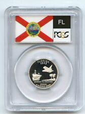 2004 S 25C Silver Florida Quarter PCGS PR69DCAM