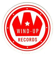 WIND UP RECORDS Ltd Ed RARE Sticker! EVANESCENCE SEETHER REVIVALISTS GRISWOLDS