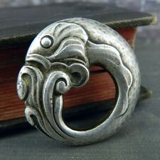 Georg Jensen Sterling Silver Fish Pin / Brooch #10