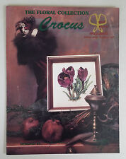 Vintage '97 CROCUS Counted CROSS STITCH Patterns by JANET POWERS
