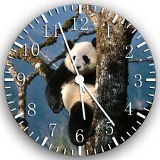 Cute Panda Frameless Borderless Wall Clock Nice For Gifts or Decor Z51