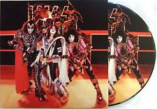 KISS VINYL LP HOTTER THAN HELL IN PARIS - PICTURE DISC