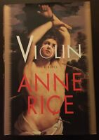 Violin by Anne Rice (1997, Hardcover)