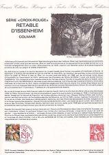 Document Philatélique Timbre 1er Jour : 23/11/ 1985 - Croix Rouge Colmar