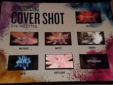 SMASHBOX Cover Shot: Boxed Set ALL 7 Eyeshadow Palettes ABLAZE MATTE BOLD $210+