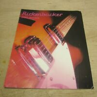 Rickenbacker 300 Series Electric Guitar Advertising Brochure Flyer 80s 1985