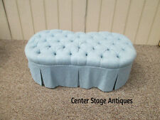 57612 Tufted Window Bench Stool Chair