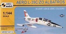 """Mark I Models 1/144 Aero L-39C/L-39ZO ALBATROS """"dans l'USAF, USN & USMC couleurs'S # 1"""