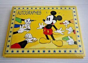 Disneyland Paris Autograph Book With 2 Autographs