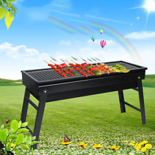 Grill BBQ Outdoor Portable Stove Foldable Folding Charcoal Camping Barbecue Oven