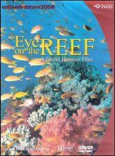 EYE on the GREAT BARRIER REEF (David HANNAN) Underwater Fish Film DVD NEW Reg 4
