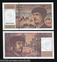 FRANCE 20F.1997 P151 MOUNTAIN DEBUSSY PRE-EURO UNC NOTE
